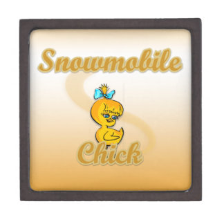 Snowmobile Chick Premium Gift Boxes