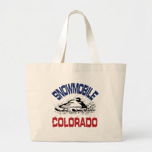 Snowmobile Colorado Bolsas Lienzo