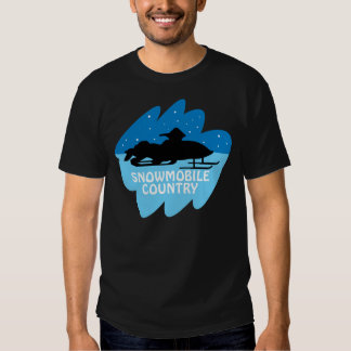 Snowmobile Country T Shirt