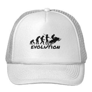 Snowmobile Evolution Mesh Hats