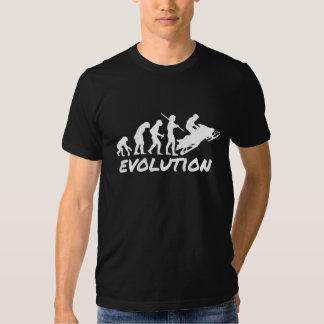 Snowmobile Evolution T Shirt