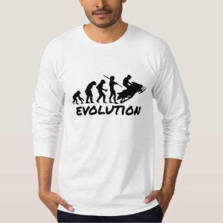 Snowmobile Evolution Tshirts