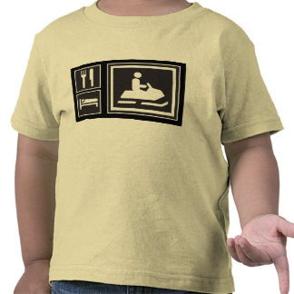 Snowmobile Fanatic - Eat, sleep, go snowmobiling! T-shirts