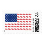 Snowmobile Flag Stamps