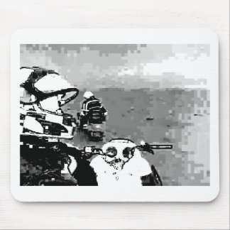 Snowmobile Freedom Mouse Pad