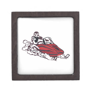 Snowmobile Gift Box