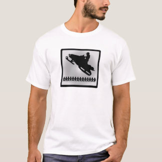 SNOWMOBILE HAAZEEE PEEPS T-Shirt
