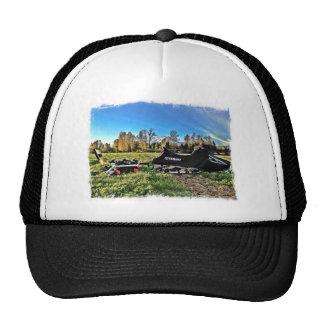 snowmobile trucker hat