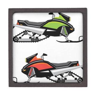 Snowmobile Jewelry Box