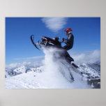 Snowmobile Jump Print