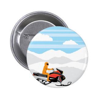 Snowmobile landscape button