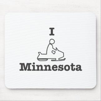 Snowmobile Minnesota Alfombrillas De Ratón