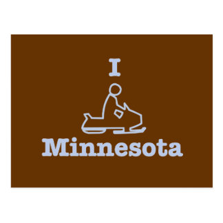 Snowmobile Minnesota Postal