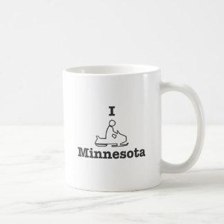 Snowmobile Minnesota Taza De Café