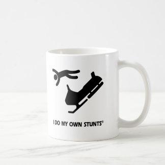 Snowmobile My Own Stunts Coffee Mug