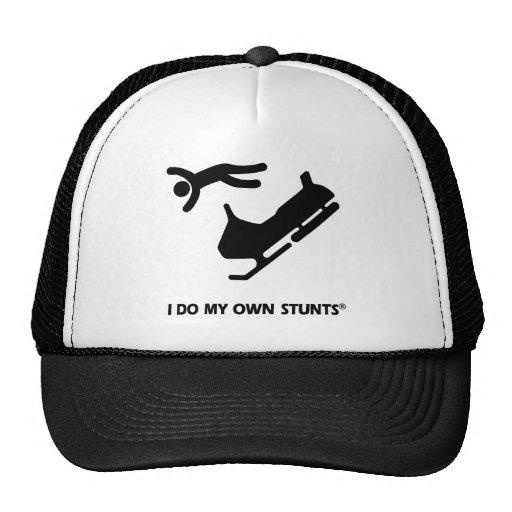 Snowmobile My Own Stunts Trucker Hat