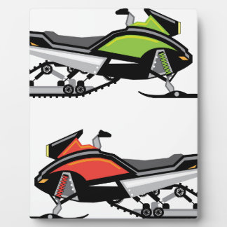 Snowmobile Plaque