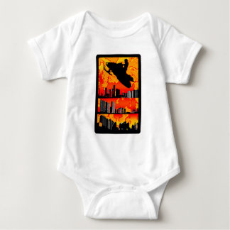 SNOWMOBILE THE FACET BABY BODYSUIT