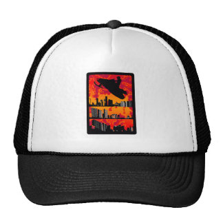 SNOWMOBILE THE SIGHTS TRUCKER HAT