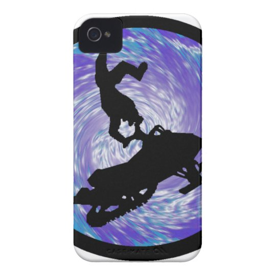 SNOWMOBILE THE TRICKS iPhone 4 COVER