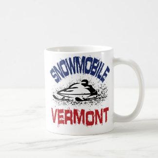 Snowmobile Vermont Taza De Café