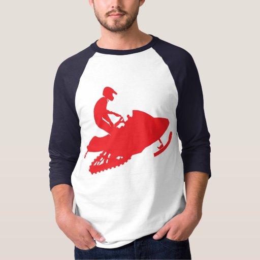 Snowmobiler Camisas