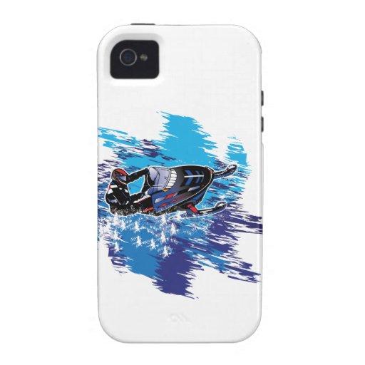 Snowmobiler gráfico Case-Mate iPhone 4 funda