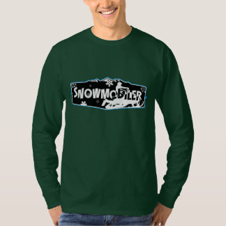 Snowmobiler Hanes Nano Long Sleeve T-Shirt