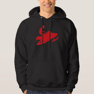 Snowmobiler/Red Sled Pullover