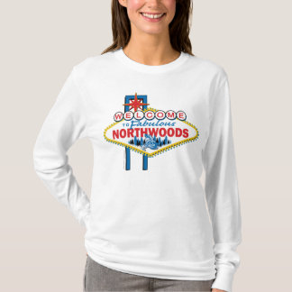 Snowmobiler/Welcome to the Northwoods T-Shirt