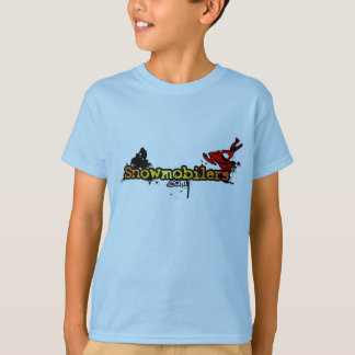 Snowmobilers.com children's shirt