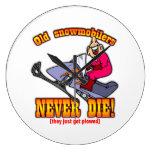 Snowmobilers Relojes De Pared