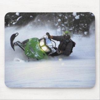 Snowmobiles Tapetes De Ratón