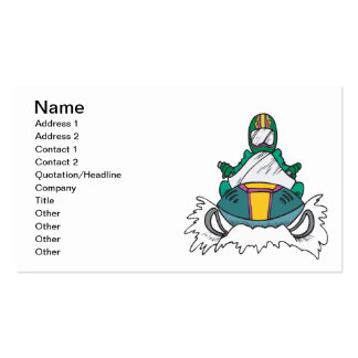 Snowmobiling 3 business card