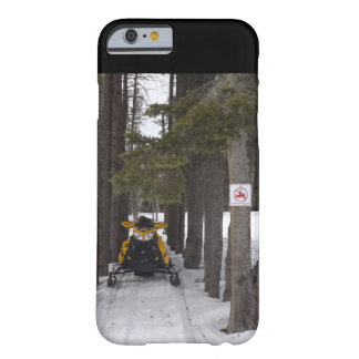 Snowmobiling... Barely There iPhone 6 Case