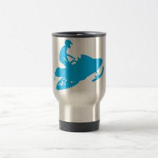 Snowmobiling/ Blue Sled Mug