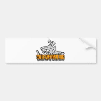 Snowmobiling Bumper Sticker