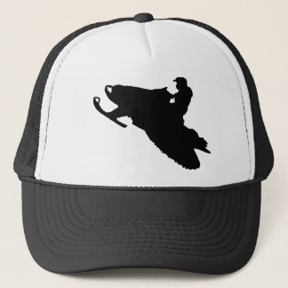 Snowmobiling hat