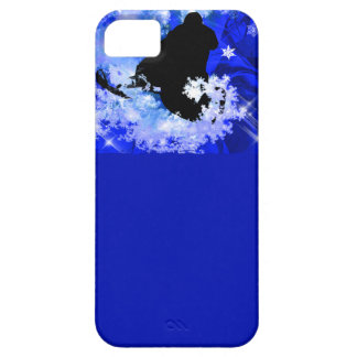 Snowmobiling in the Avalanche iPhone 5 Case