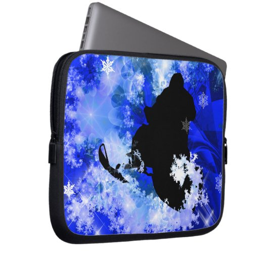Snowmobiling in the Avalanche Computer Sleeve