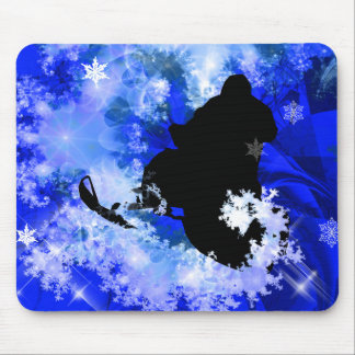 Snowmobiling in the Avalanche Mouse Pad