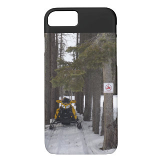 Snowmobiling... iPhone 7 Case