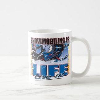 SNOWMOBILING-IS-LIFE-zazz Coffee Mug