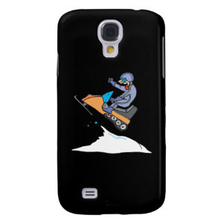 Snowmobiling Jump Galaxy S4 Cover