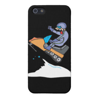 Snowmobiling Jump Cases For iPhone 5