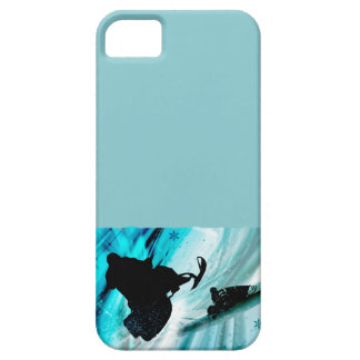 Snowmobiling on Icy Trails iPhone 5 Cover
