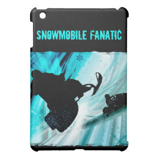 Snowmobiling on Icy Trails iPad Mini Cases