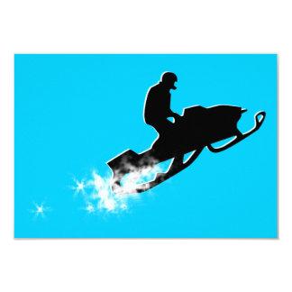 snowmobiling : powder trail card