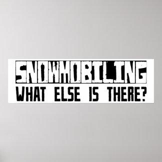¿Snowmobiling qué más está allí? Impresiones