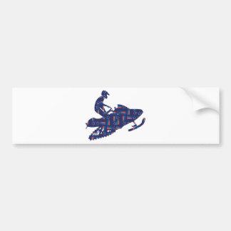 Snowmobiling/Shooting-Star-Sledder Bumper Sticker